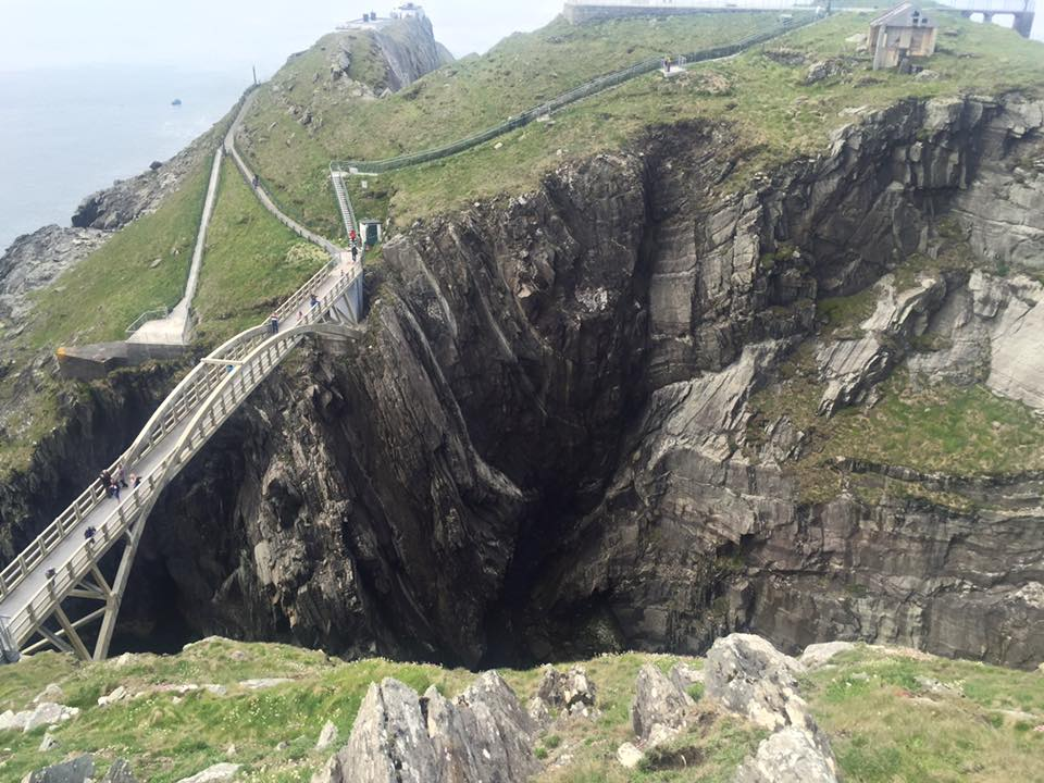 Bridge at Mizen Head.