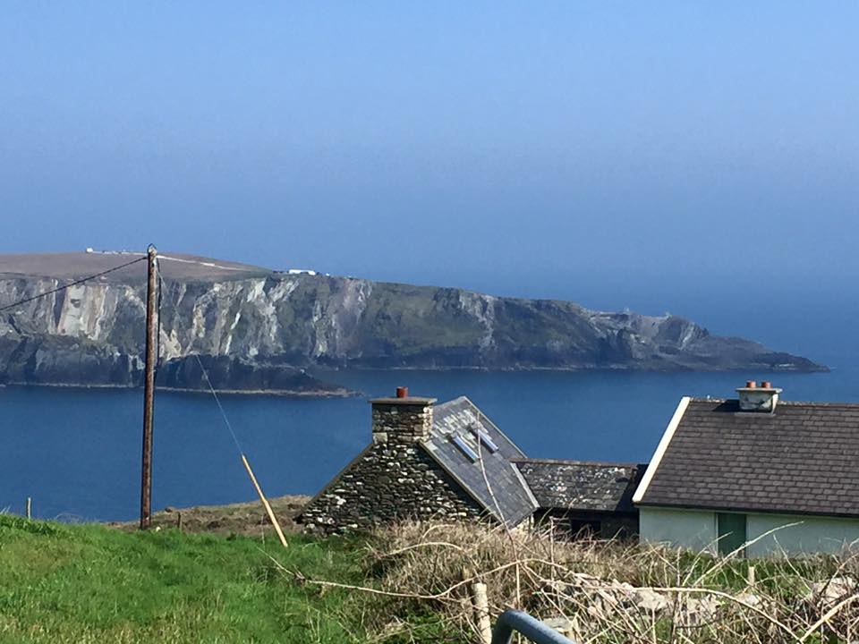 Local house overlooking to  Brow Head.