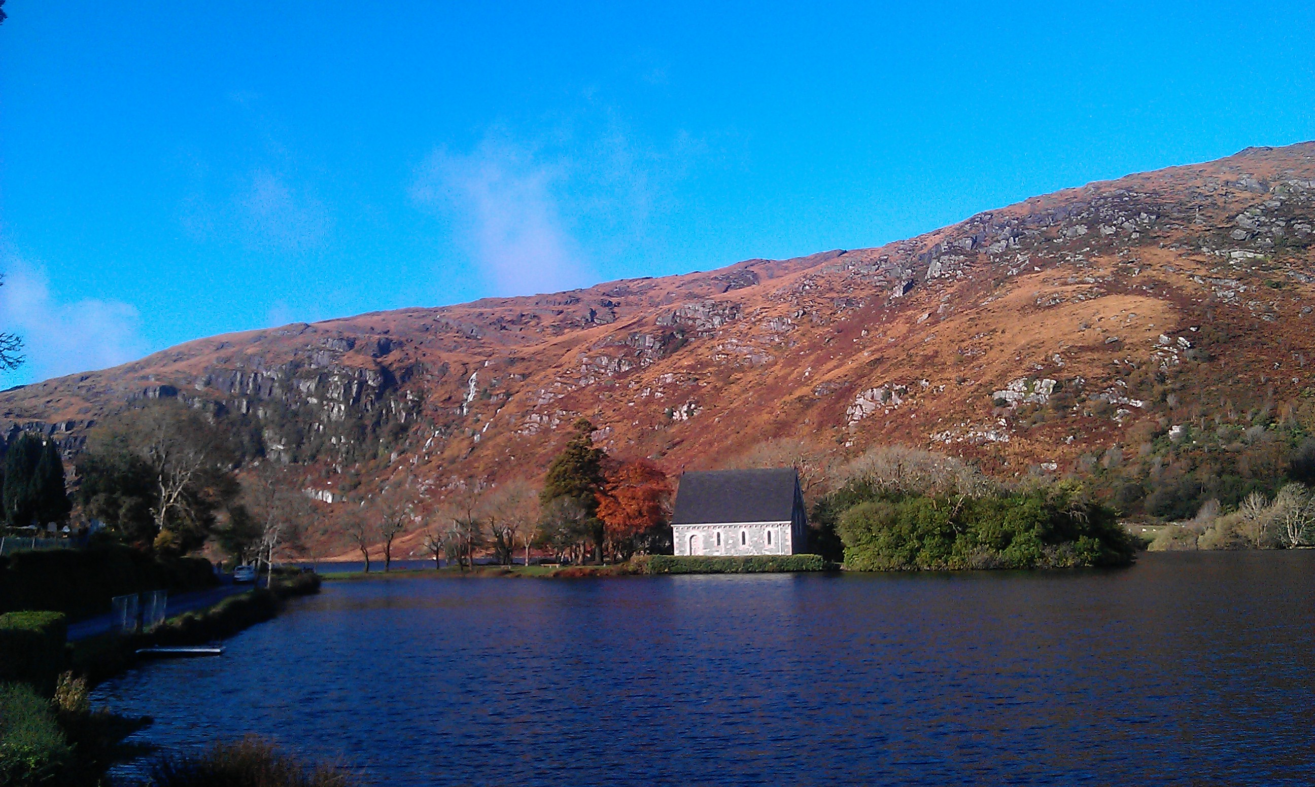 Gougane Barra church - Suzanne Burns