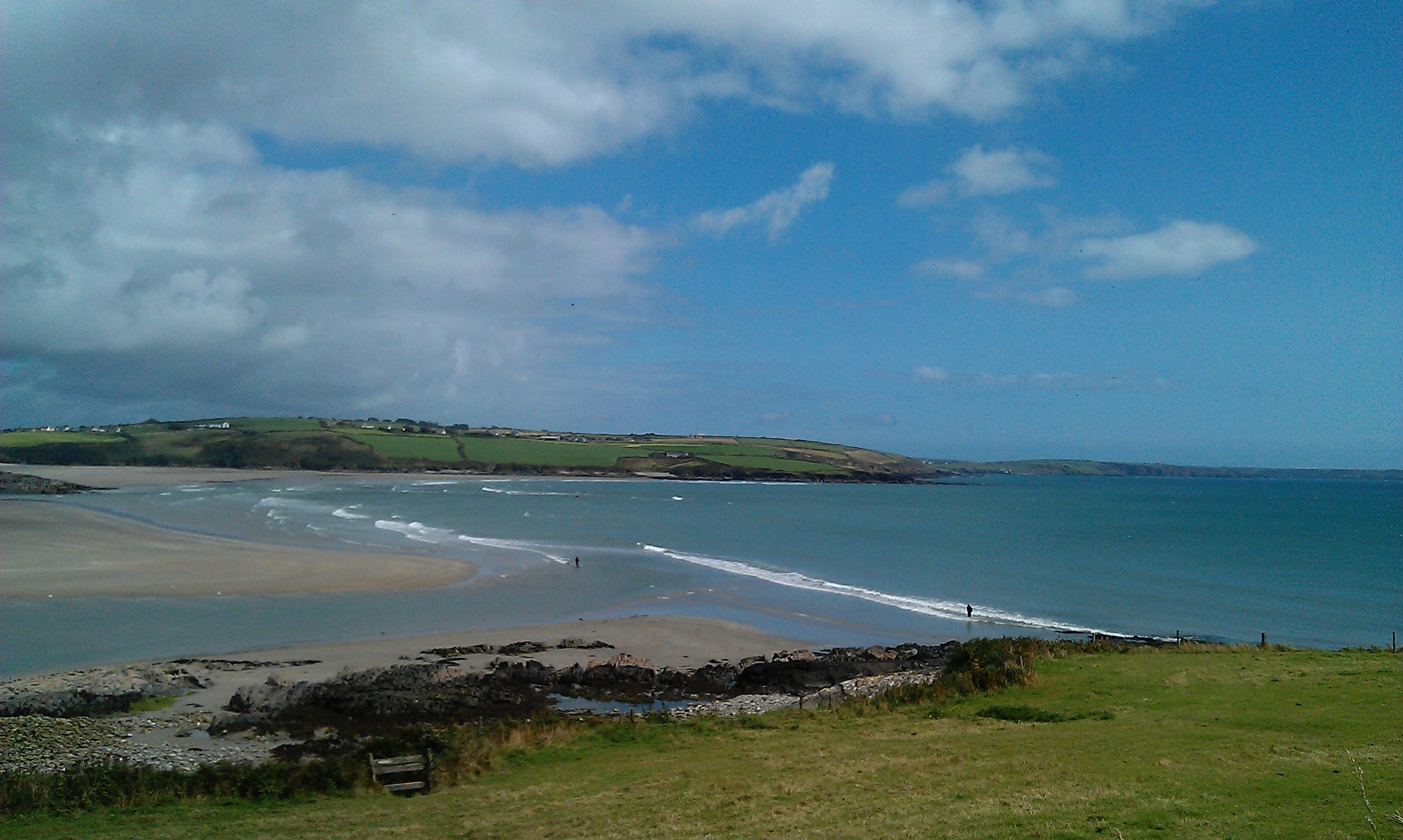 Overlooking Clonakilty Bay-Suzanne Burns